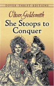 Cover of: She Stoops to Conquer by Oliver Goldsmith