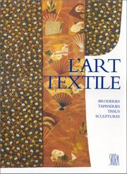Cover of: L'art textile | Thomas Michel