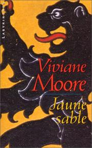 Cover of: Jaune sable | Viviane Moore