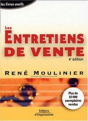 Cover of: Les Entretiens de vente by René Moulinier