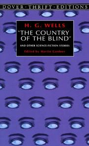 "Cover of: ""The  country of the blind"" and other science-fiction stories by H. G. Wells"