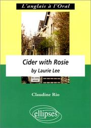 Cover of: Cider With Rosie by I. Lee | Rio