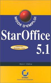 Cover of: Staroffice 5.1 | Henri Chene