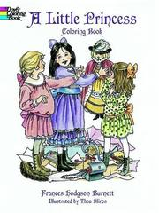 Cover of: A Little Princess Coloring Book by Frances Hodgson Burnett