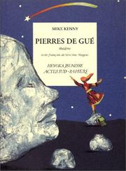Cover of: Pierres de gué | Mike Kenny
