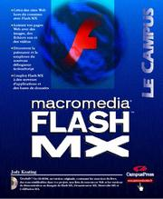 Cover of: Flash MX by Jody Keating