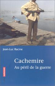 Cover of: Cachemire | Jean-Luc Racine