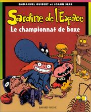 Cover of: Sardine de l'espace, tome 5 by Emmanuel Guibert