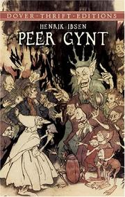 Cover of: Peer Gynt by Henrik Ibsen