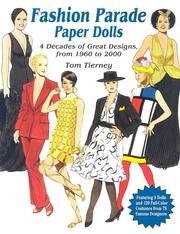 Cover of: Fashion Parade Paper Dolls by Tom Tierney