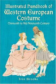 Cover of: Illustrated Handbook of Western European Costume by Iris Brooke
