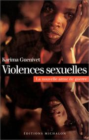 Cover of: Violences sexuelles by Karima Guenivet