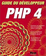 Cover of: Guide du Développeur PHP 4 | Blake Schwendiman