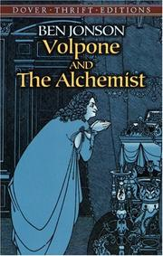 Cover of: Volpone and The Alchemist | Ben Jonson