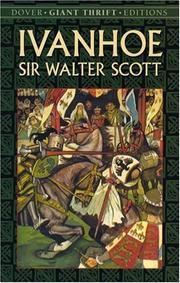 Cover of: Ivanhoe | Sir Walter Scott