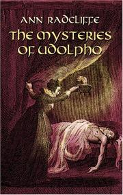 Cover of: The Mysteries of Udolpho | Ann Ward Radcliffe