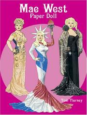 Cover of: Mae West Paper Doll (Paper Dolls) | Tom Tierney