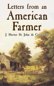 Cover of: Letters from an American farmer by J. Hector St. John de Crèvecoeur