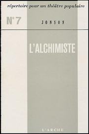 Cover of: L'Alchimiste | Ben Jonson