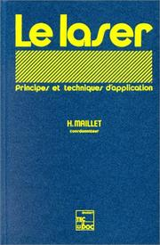 Cover of: Le laser by Maillet