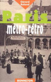 Cover of: Paris métro retro | Gérard Roland