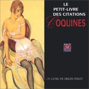 Cover of: Le petit-livre des citations coquines | Helen Exley