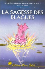 Cover of: La Sagesse des blagues by Alejandro Jodorowsky