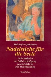 Cover of: Nadelstiche für die Seele by Windy Dryden