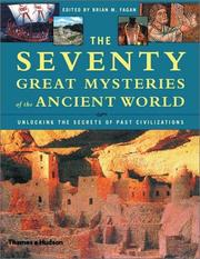 Cover of: The Seventy Great Mysteries of the Ancient World by Brian M. Fagan