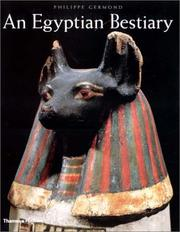 Cover of: An Egyptian Bestiary by Philippe Germond
