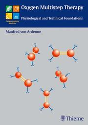 Cover of: Oxygen Multistep Therapy | Manfred Von Ardenne