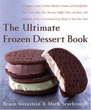 Cover of: The ultimate frozen desert book | Bruce Weinstein