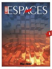 Cover of: Le Nouvel Espaces, Bd.1, Lehrbuch | Guy Capelle