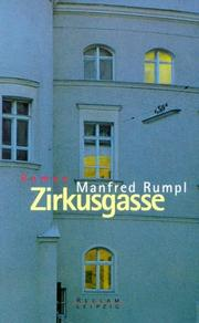Cover of: Zirkusgasse | Manfred Rumpl