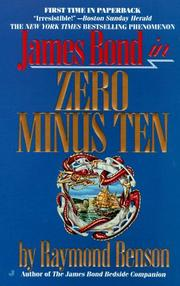 Cover of: Zero Minus Ten (007) | Raymond Benson
