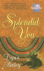 Cover of: Splendid You by Lynn Bailey, Cynthia Bailey Pratt