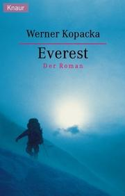 Cover of: Everest by Werner Kopacka