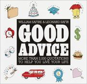 Cover of: Good Advice | William Safire