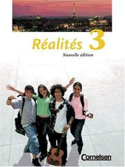 Cover of: Realites 3. Nouvelle edition | Marlisa Szwillus