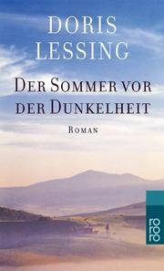 Cover of: Der Sommer vor der Dunkelheit. Sonderausgabe by Doris Lessing