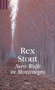Cover of: Nero Wolfe in Montenegro | Rex Stout