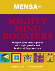 Cover of: Mensa Mighty Mind Boosters | Robert Allen, Josephine Fulton
