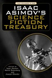 Cover of: Isaac Asimov's science fiction treasury | Isaac Asimov, Martin Harry Greenberg, Joseph D. Olander