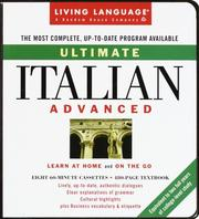 Cover of: Ultimate Italian: Advanced | Salvatore Bancheri