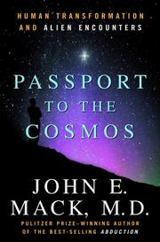 Cover of: Passport to the Cosmos | John E. Mack