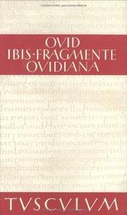 Cover of: Ibis / Fragmente / Ovidiana | Ovid