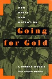 Cover of: Going for gold | T. Dunbar Moodie