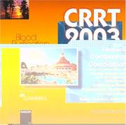 Cover of: Crrt 2003 - A Multimedia Conference Compilation | R. L. Mehta
