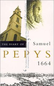 Cover of: The Diary of Samuel Pepys, Vol. 5 | Samuel Pepys