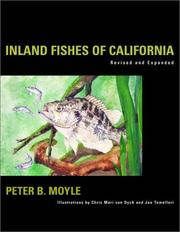 Cover of: Inland fishes of California by Peter B. Moyle